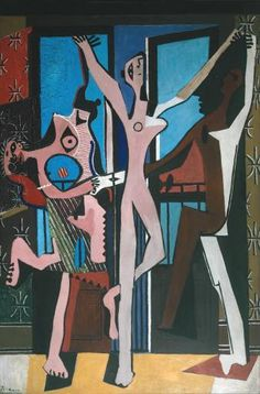 The Three Dancers - Pablo Picasso 1925