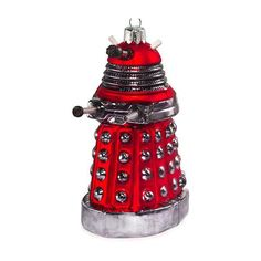 Dalek christmas ornament. I think it's going to be a very whovian christmas this year.