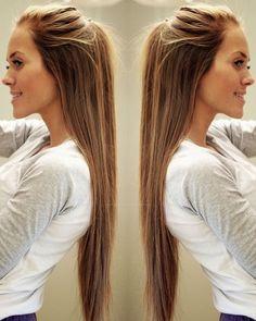 summer colour - brunette