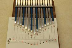 Music Instruments Diy, Homemade Instruments, Music Tabs, Music Chords, Easy Sheet Music, Piano Sheet Music, Princess Music, Kalimba, Song Notes