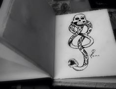 Are you my next tattoo? Personal interpretation, not so different from the original one... #potterhead