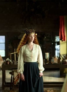 eff yeah costume!: Amy Manson as Elizabeth Siddal in Desperate Romantics (TV Series, 2009).