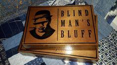 Cigar Box Blind Man's Bluff Pair Wooden Chest by IndustrialPlanet