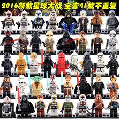 Single Figures Star War Darth Vader R2D2 Leia Yoda Clone Trooper Kylo Ren XH Mini Blocks Building XINH Toys-in Blocks from Toys & Hobbies on Aliexpress.com   Alibaba Group
