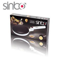 Crêpe Maker Sinbo SP 5208 650 W alleen Witte kleur