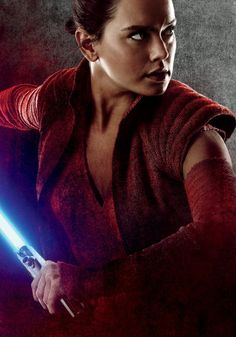"""New International Character Posters from """"Star Wars: The Last Jedi"""" - Rey"""