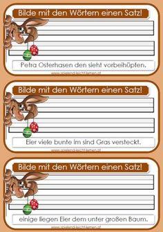 Arbeitsblatt zum Wörter nach dem ABC sortieren | Deutsche schule ...