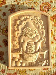 Купить Резное панно из дерева - панно, баня, панно на стену, табличка, оберег, кедр, дерево