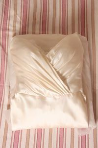 Wrapping up and preserving your own wedding dress. Good idea! (6 years later...)