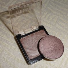 """WetnWild """"Nutty"""" ($2.00 at drugstores) is a perfect dupe for Mac """"Satin Taupe"""" ($11.00 at Mac) Mac Satin Taupe, Beauty Dupes, Beauty Makeup, Beauty Hacks, Makeup Geek, Beauty Essentials, Makeup Tips, Wet N Wild, Mascara"""