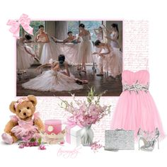 """Ballerina Inspired"" by tammynky on Polyvore"