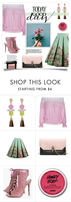 """""""Good Day"""" by mahafromkailash ❤ liked on Polyvore featuring Boohoo and Bobbi Brown Cosmetics"""