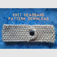 DIY: Knit Headband