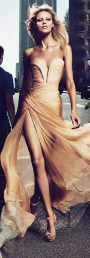 This is my dream Ellie Saab dress!!!!!!!! I need this... In white!