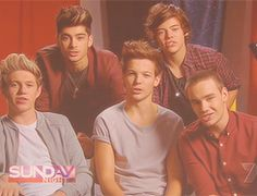 one direction in mid sentence