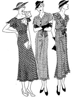 30's Fashion Two by Home and Heart, via Flickr