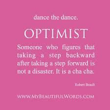 Optimistic dance