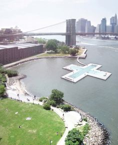 Kickstarter At Its Craziest: A Pool That Floats In NYC's East River With Biofilters.  BECAUSE GOD KNOWS YOU CAN'T SWIM IN THE EAST RIVER OTHERWISE.