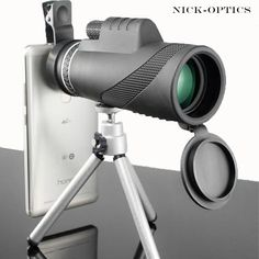 Monocular Powerful Binoculars High Quality Zoom Great Handheld Telescope l Handy Gadgets, Electronics Gadgets, Zoom Hd, Wifi Connect, Phone Clip, App Remote, Wide Angle Lens, Camera Gear, Couple