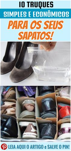 a3a0f8fd332 Veja 10 truques simples e econômicos para os seus sapatos