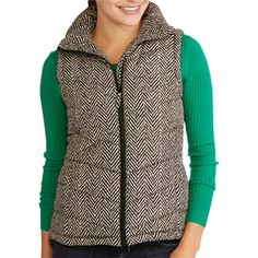 Walmart J. crew Inspired herringbone Vest is back in stock! Just purchased one for myself! :)