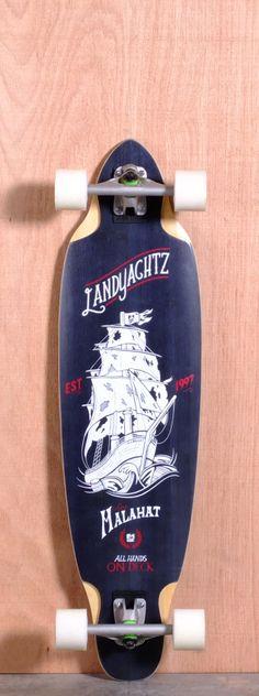 "Landyachtz 38"" Malahat Longboard Complete"