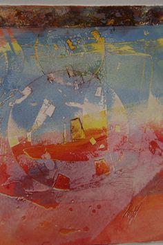 Jacques Doaré copper plate print