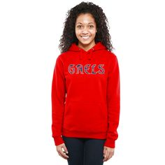 Saint Mary's Gaels Women's Classic Wordmark Pullover Hoodie - Red - $54.99