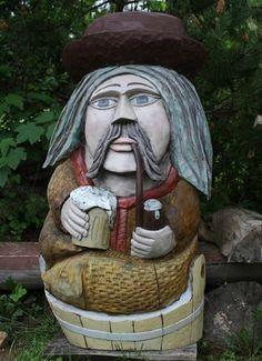 Vodník s pivem