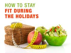 5 Tips to stay fit during the holidays