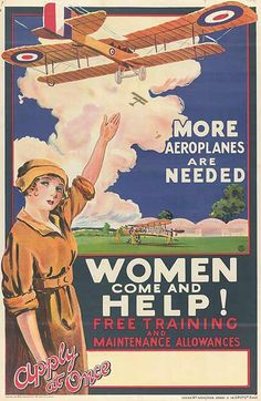 Women - Come and Help.  WWI