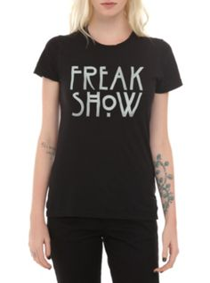 American Horror Story: Freak Show Girls T-Shirt Hot Topic $15.75