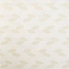 Heath - Wide Hex Twist shown in two colors, Canvas & Vanilla Bean