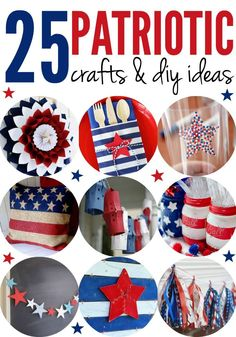 It's all things Red, White and Blue! Here are 25 decorations, decor and more to make your 4th of July or Memorial Day oh-so-festive!