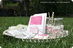 Inspiration &Art Bloghop Gartenparty...