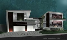Swann house exterior designs.