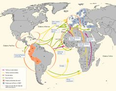 MAPA DE COROPLETAS Y FLUJOS. Narcotráfico, Cocaína