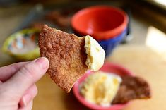 Cinnamon Crisps made from tortillas, butter, and cinnamon sugar | The Pioneer Woman