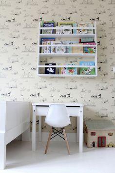 Desk and Wallpaper
