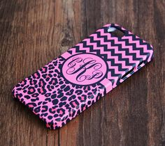 Magenta Floral Monogram iPhone 6 6 Plus 5S 5 5C Protective Case # – Ac.y.c