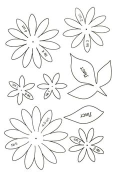 Flower Coloring Pages Pattern Coloring Pages Nylon Flowers Paper Flowers Craft Paper Flower Backdrop Flower Crafts Giant Paper Flowers Big Flowers Fabric Flowers Paper Flowers Craft, Paper Flower Backdrop, Giant Paper Flowers, Flower Crafts, Fabric Flowers, Nylon Flowers, Clay Flowers, Leaf Template, Flower Template