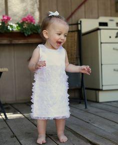 white dress for toddler girls