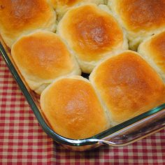 """Sour Cream Yeast Rolls  - She states, """"...very rarely do I meet a roll that I didn't like.""""  Agreed."""