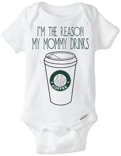 Funny Onesie Baby Gift I'm the reason my by LittleFroggySurfShop