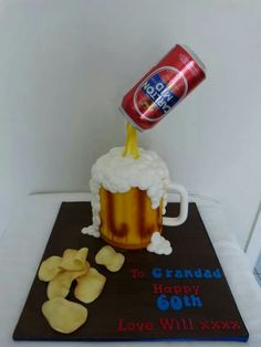 what an unusual cake!