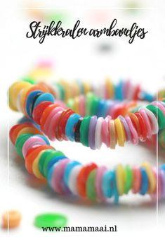 Fantastic Summer time bracelet made with iron beads Stunning bracelet in iron beads, worki. Cork Crafts, Diy And Crafts, Diy For Kids, Crafts For Kids, Iron Beads, Cardboard Crafts, Thanksgiving Crafts, Garden Crafts, Toddler Crafts