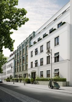 Greifweg, Düsseldorf Oberkassel - Ralf Schmitz Immobilien Architectural mastery can be a Costly Sections! Architecture Classique, Classic Architecture, Facade Architecture, Residential Architecture, Neoclassical Design, Neoclassical Architecture, Building Facade, Building Design, Best Office