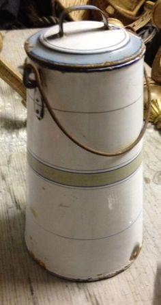 French enamel milk carrier  www.fleaingfrance.com/fr/  xo--FleaingFrance