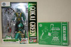 SHF Gokai Green