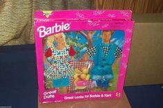 Barbie & Ken Great Date Great Looks Picnic Fashion Clothes 1996 Mattel   eBay